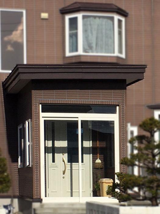 北海道の住宅 玄関